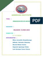 Organizacion de Archivo