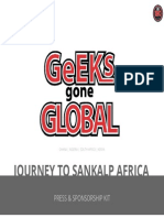 Geeks Gone Global Journey to Sankalp Africa Press Sponsor Package - PDF
