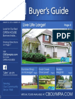 Coldwell Banker Olympia Real Estate Buyers Guide January 25th 2014