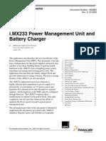 Imx233 Power Management Unit