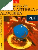 Diccionario de Magia Antigua y Alquimia
