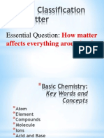 classification of matter 1