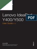 Lenovo Y500 User Manual