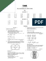 Aimcat1404 Answers
