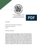 Kp01-D-2007-001800 07ene2009 Cambio de Medida Lopnna Homicidio