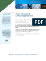 Sterile Intermittent Catheterization for Men