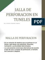 Malla de Perforacion en Tuneles