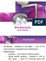 Tugas Plastik - Sindactyly