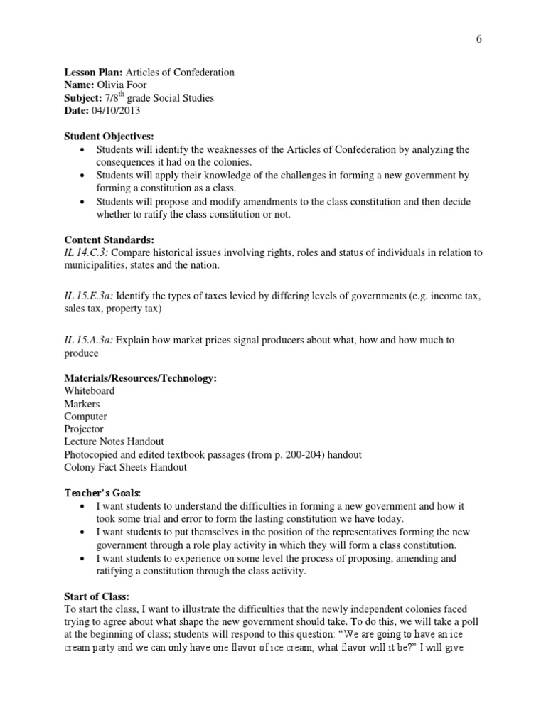 Worksheets Articles Of Confederation Worksheet articles of confederation lesson plan united states constitution continental congress