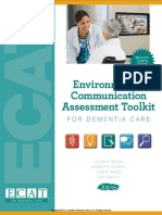 Environment & Communication Assessment Toolkit (ECAT) for Dementia Care (with meters) (Excerpt)