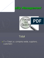 Total Quality Management(3)