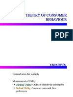 18004449 Theory of Consumer Behaviour