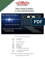 Blue Analog TrackBox