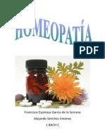 La homeopatia 1º C Francisco Espinosa y Alejandro Sanchez