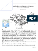 Paper on Sustainable Architecture of Kangra District