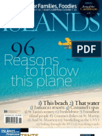 Islands Mag Caribbean Cover and Table of Contents 1109