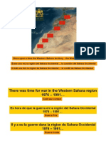 Western Sahara Issue - Between the hopes of the past and the realities of today
