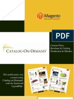 A Catalog About Catalog-on-Demand for Magento