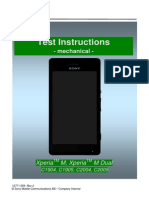 Sony Xperia M Test Instructions mEchanical_1277-1359_Rev2