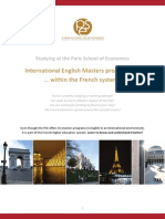 Pse French Higher Education System