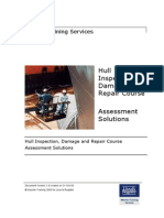 Hull Inspection Assessment - Solutions