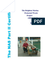 The Brighton Marina Protected Wreck Project (2004 - 2005)