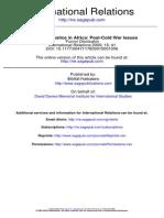 Paz y Justicia en África