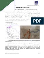Informe MENSUAL NOVIEMBRE 2013