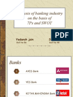 Analysis of Banking Industry