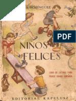 Niños felices (manual de lectura para 1er grado superior)