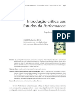 O que é performance marvin carson