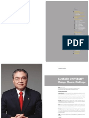 Kookmin University Brochure | Economics | Engineering