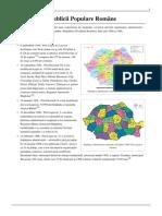 Regiunile Republicii Populare Române