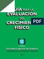 Guía de evaluación del crecimiento físicolibro_verde_sap_2013(pediatria)