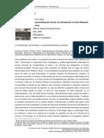 Dialnet-BrunoLatourReassemblingTheSocial-1382307