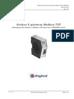 Application Note X Gateway Modbus TCP SCM 1300 002-1-00