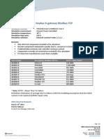 MTTF 7029 Anybus X-Gateway Modbus-TCP