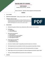 January 28 2014 Complete Agenda