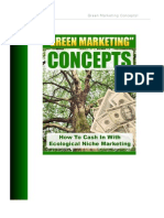 Green Marketing Concepts