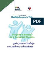 guía para el trabajo con padres y educadores