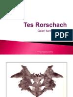 Psikotes Rorschach