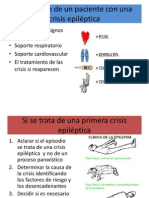 Valoración de un paciente con una crisis epiléptica