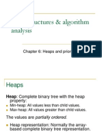 Chap6-Heaps and Priority Queues