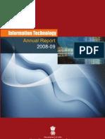 Annual Report 2008 09(IT)
