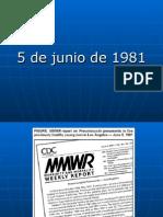 History of HIV Spanish