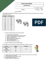Taller diagnóstico Estadística 9°