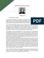 La filosofía de Tomás de Aquino y Descartes