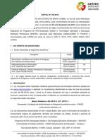Edital Aluno Especial Gestec 2014.1