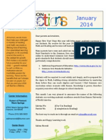Kumon Newsletter Jan 2014