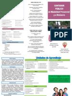 Diptico Plan de Estudios CP